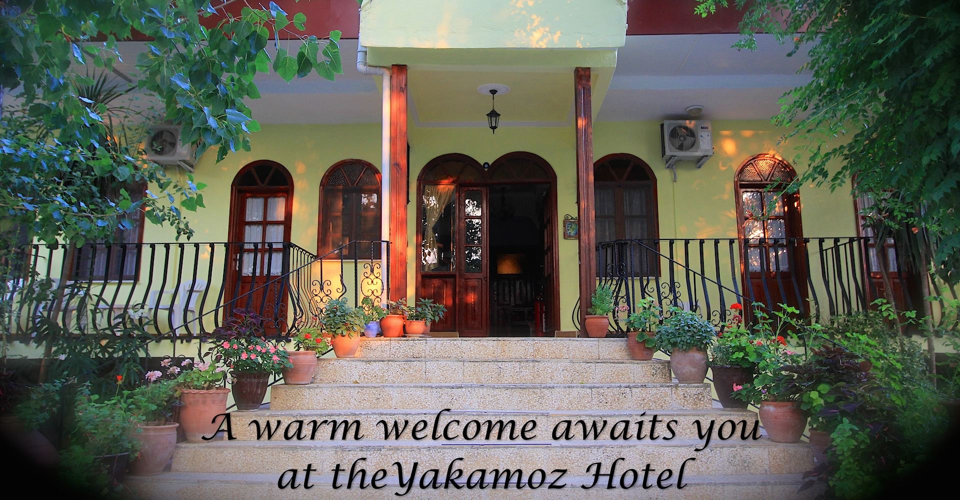 A warm welcome awaits you at the Yakamoz Hotel